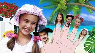 Fingers Family Song - Daddy Finger Summer collection songs Nursery Rhymes