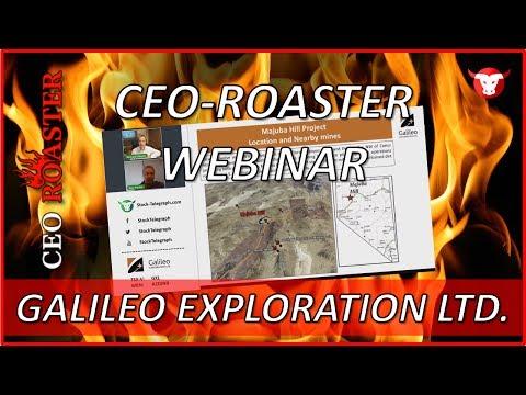 Galileo Exploration Ltd.: CEO-Roaster Webinar mit Ron Rieder (TSX-V: GXL)