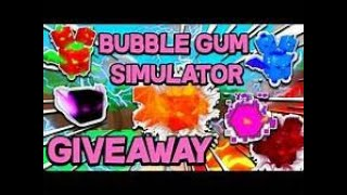Roblox Bubble Gum Simulator Giveaway/Sub and Like to join it!