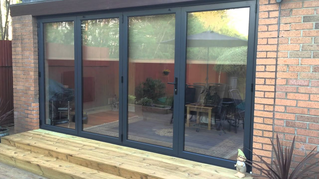 Eco Bifold Doors Remote Controlled Blinds Scotland