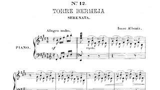 Torre Bermeja Op. 92 nº 12  - Albéniz