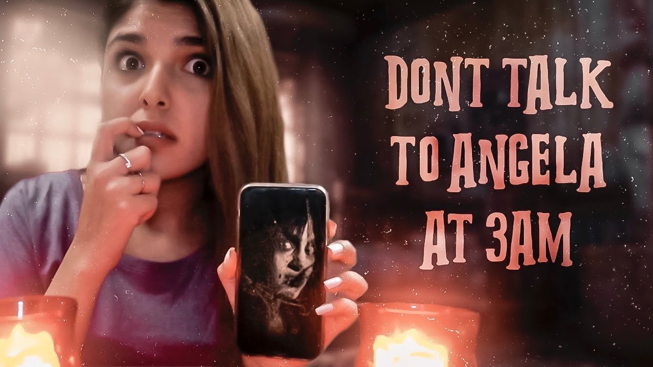 DO NOT TALK TO ANGELA AT 3 AM CHALLENGE!!  😨 | Ashi Khanna