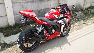 All New CBR 150R Racing RED With TOCE Exhaust (My Modification)