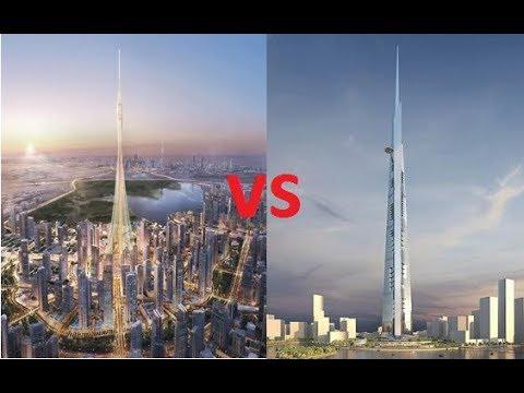 DUBAI CREEK TOWER VS KINGDOM TOWER