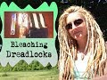 How To Bleach Dreadlocks: Lighten Black Dreads