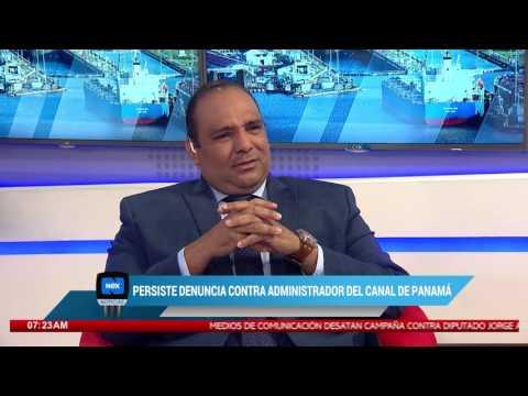 Persiste denuncia contra administrador del Canal de Panamá