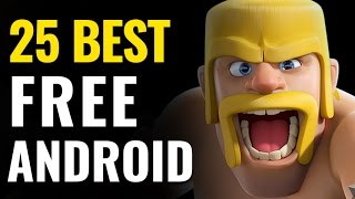 Top 25 Best Free Android Games(Ranking the best free-to-play mobile games for your Android-powered smartphones and tablets. These are the top-rated free games available on the Google ..., 2017-01-25T01:00:00.000Z)