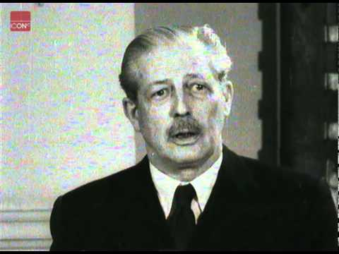 Harold Macmillan talking about Eden's retirement