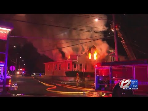 West Warwick Police officer credited with alerting residents in early morning fire
