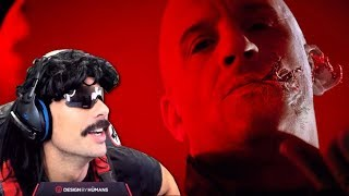 DrDisrespect Reacts to BLOODSHOT - Official Trailer (10/21/19)