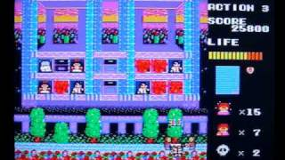 A fun and comical fire rescue game for the Master System. It requir...