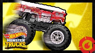 Monster Trucks 5 Alarm Epic Finish! | Monster Trucks | Hot Wheels