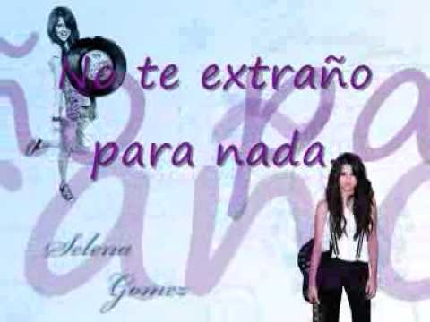 Selena Gomez I Dont Miss You At All Español Youtube