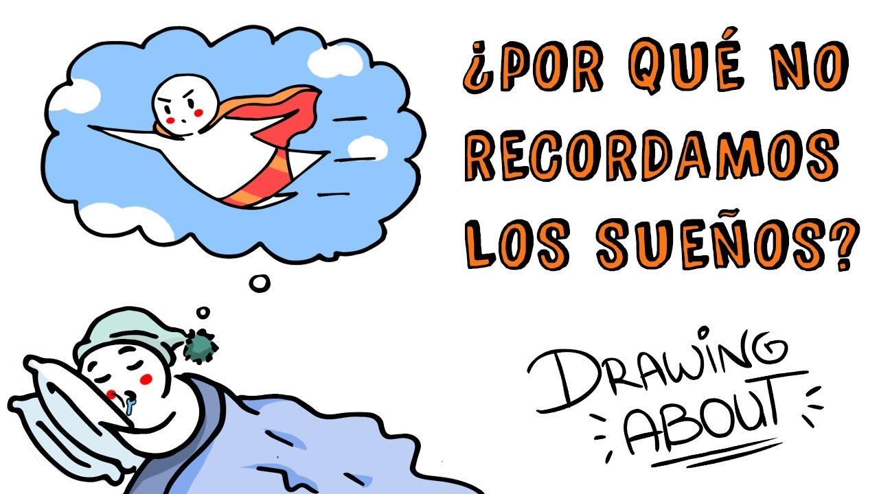 ¿POR QUÉ NO PODEMOS RECORDAR LOS SUEÑOS? | Draw My Life ¿Qué significa soñar?