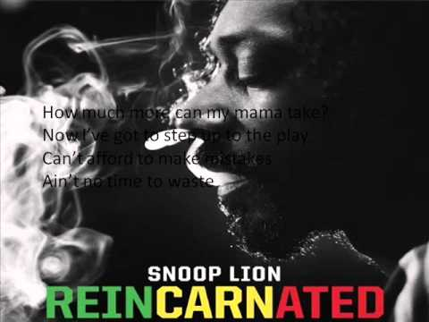 Snoop Lion feat. Jahdan Blakkamoore - Harder Times (lyrics on screen)