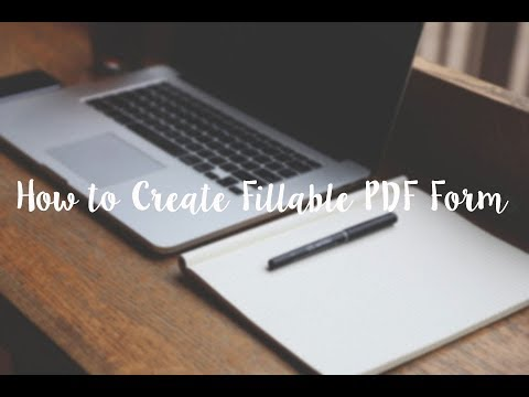 4 Excellent Tools to Create Fillable PDF Forms (2018)
