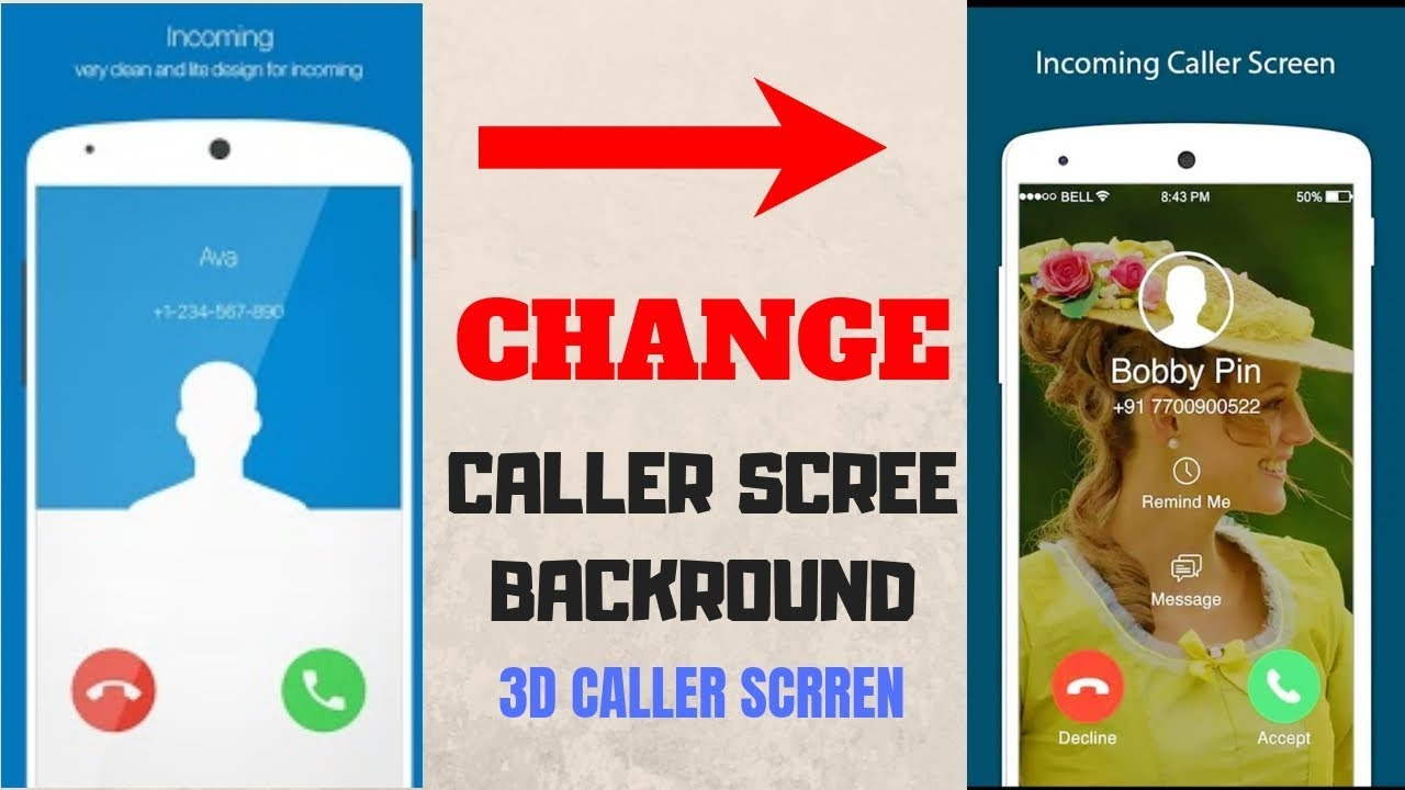 Change caller screen of all Xiaomi Device | Best Caller Screen for Redmi  Note 4, Note 5 pro