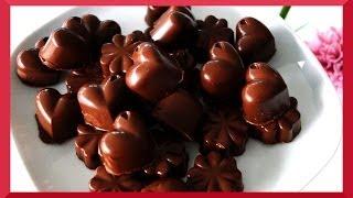 Kirschpralinen selber machen - Valentinstagsgeschenk 2014