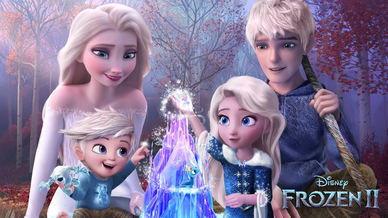 Download Frozen 2: Elsa and Jack Frost have a daughter and a son! And they both have magic! ❄💙Alice Edit!