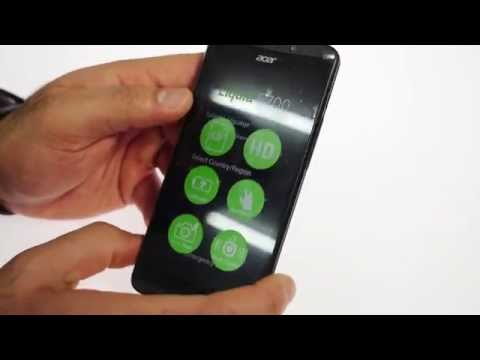 Acer Liquid E700 Unboxing and Hands On