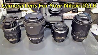 Lens You Should Get for Your Nikon D5200 DSLR Camera