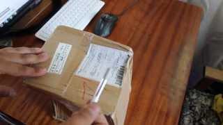 Распаковка посылки из Китая №2 Свадебный букет