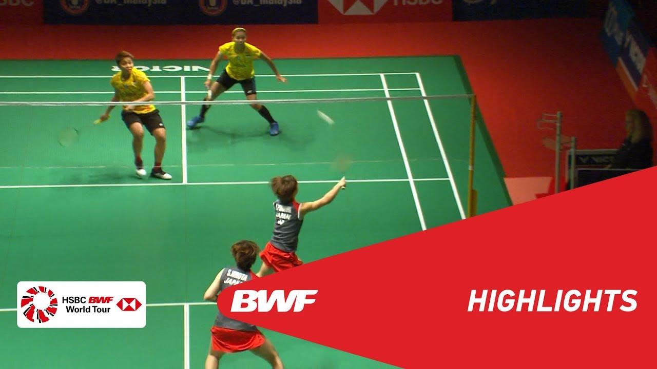 PERODUA Malaysia Masters 2019  WD - F - HIGHLIGHTS  BWF