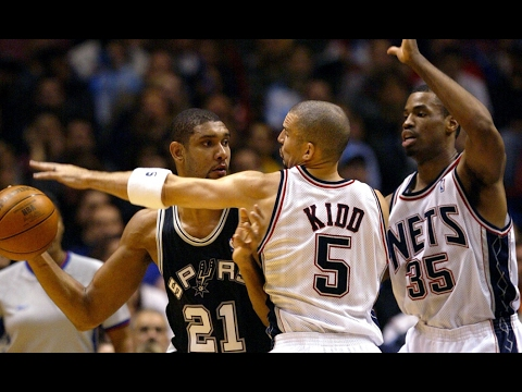 20b36f791 2003 NBA Finals - New Jersey Nets   San Antonio Spurs - Game 1 - YouTube