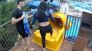 Kid's Drop Slide at Blue One Water Park