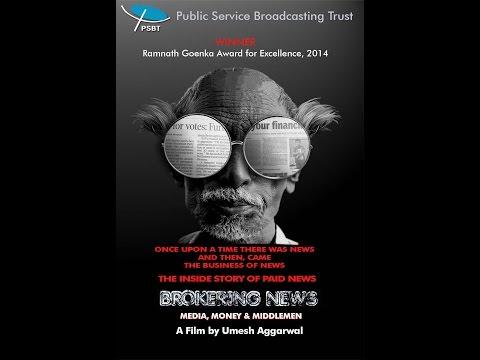 BROKERING NEWS – MEDIA, MONEY AND MIDDLEMEN