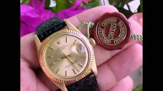 rolex 1601 datejust wrist watch