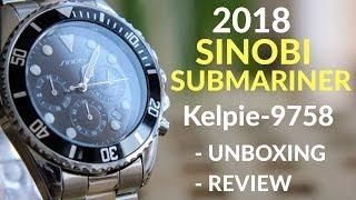 sinobi Submariner Kelpie-9758 - 2018 - Unboxing and review