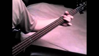 Killswitch Engage - Fixation On The Darkness (Bass Cover)
