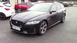 In Review; New Jaguar XF Sportbrake 2 0i 300 Sport Model @CarLease UK - Jaguar XF Estate 300ps/BHP