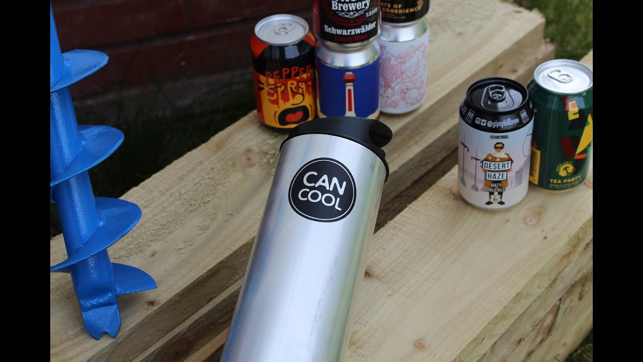 The Ultimate BBQ Accessory: CANCOOL Garden Beer Chiller