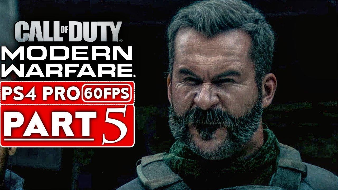 Campanha do Procedimento 5: Gameplay de Call of Duty Modern Warfighter [1080p HD PS4] - Sem análises + vídeo