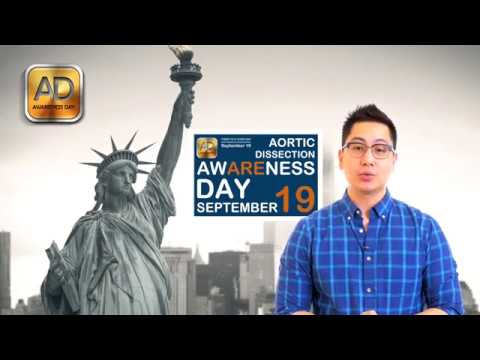 Aortic Awareness Day is always September 19