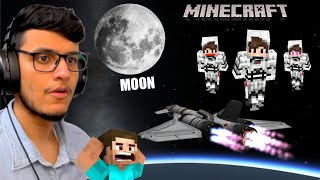 Going to SPACE in Minecraft