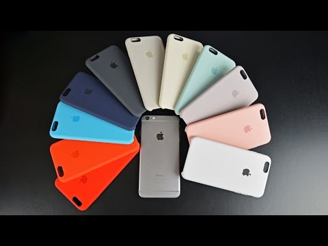 buy popular c1bf0 031dd Apple iPhone 6s & 6s Plus Silicone Case (All Colors): Review - YouTube