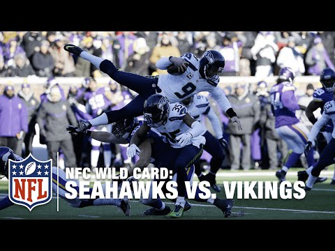 Jon Ryan Botches Punt & Face Plants on Diving Run! | Seahawks vs. Vikings | NFL