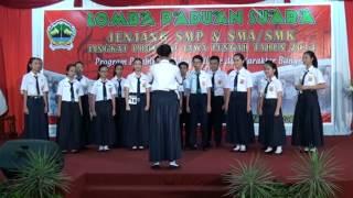 Paduan Suara SMP Negeri 2 Semarang 2014