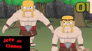 Jefe de Clanes (Parodia Animada de Clash of Clans en Español)