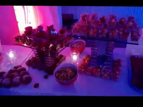 buffet froid mariage par lionel traiteur le roy youtube. Black Bedroom Furniture Sets. Home Design Ideas