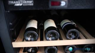 Expert Reviews 42 Bottle Transtherm Studio Glass Door Wine Cellar Stu1gdbatrh - Appliances Online