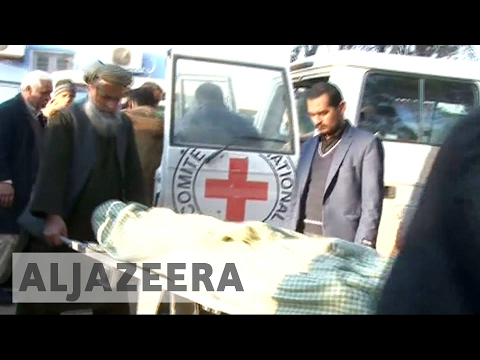 Six Red Cross aid workers killed in Afghanistan