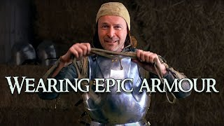Part 23: Armour: How Do You Wear Medieval Armour?