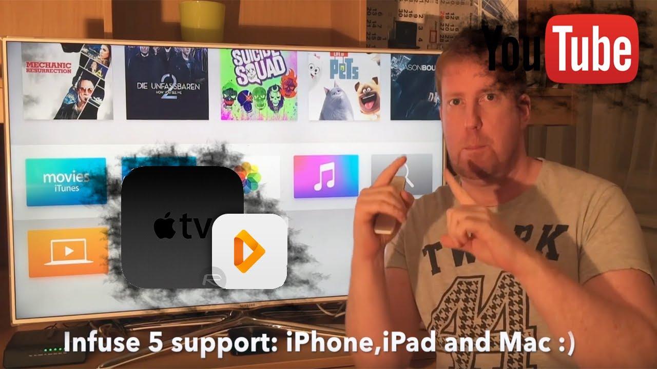 Apple Tv 4 + Infuse 5 pro :) Part 2