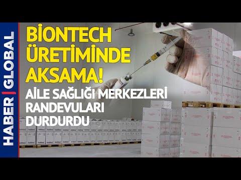 Aile Sağlığı Merkezleri Biontech Randevularını Durdurdu