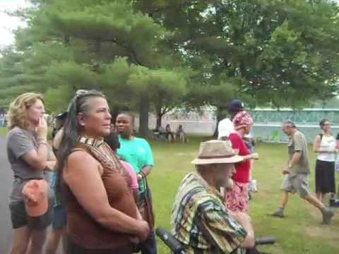 Akwesasne Women Singers at Pocumtuck Homelands Festival