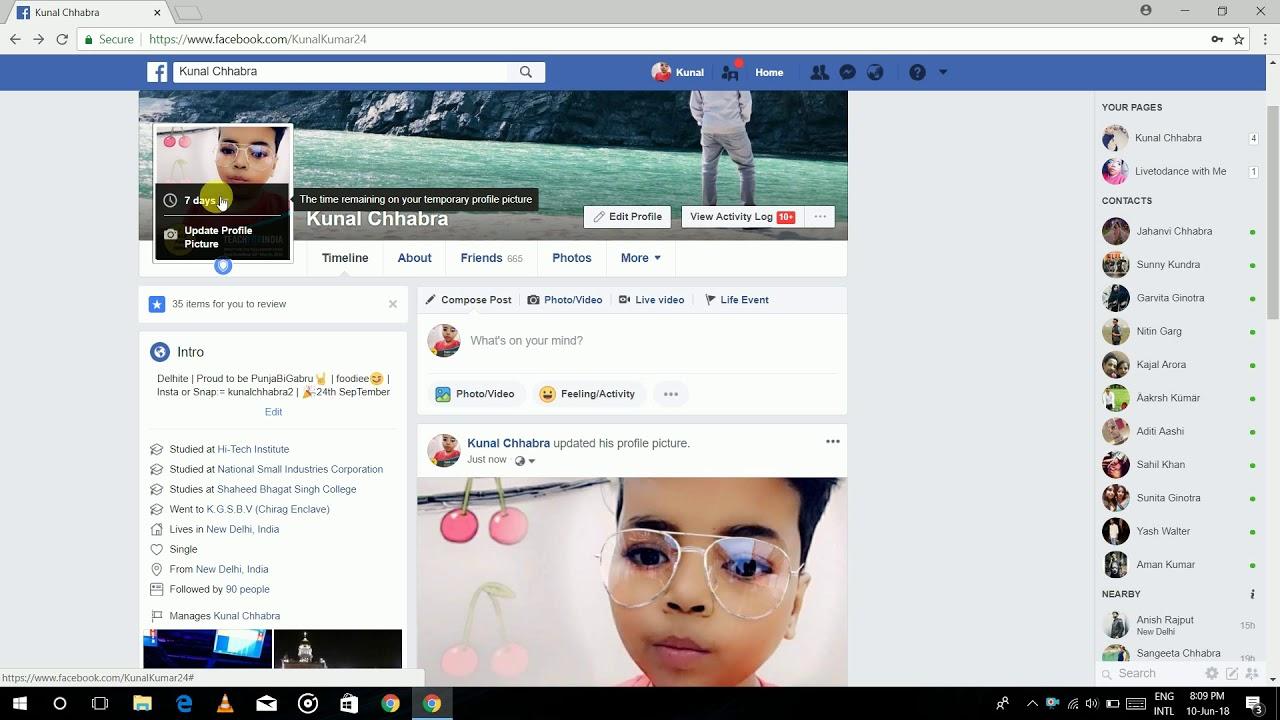Remove Frame On Facebook Profile | Techno World | 2018 ...